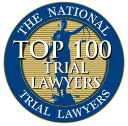 Natioanl trial lawyers top 100
